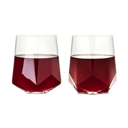 Picture of Faceted Wine Glasses