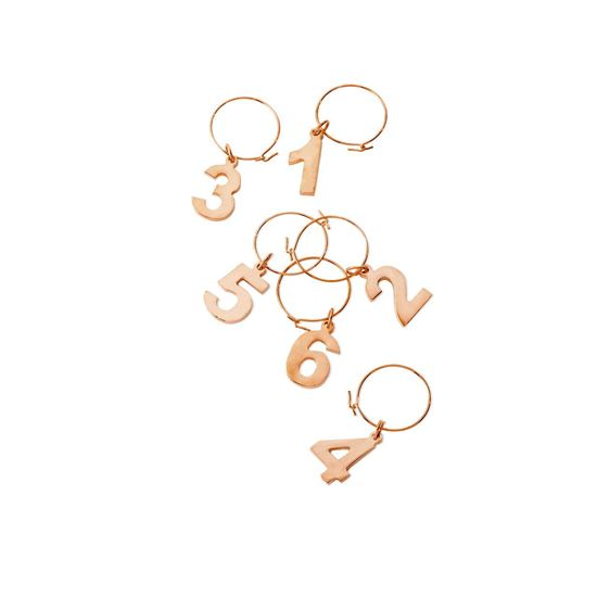 Picture of Copper Wine Charms