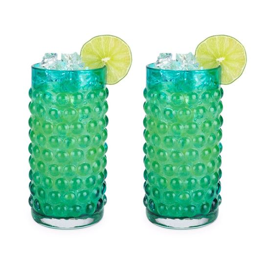 Picture of Hobnail Glassware Set