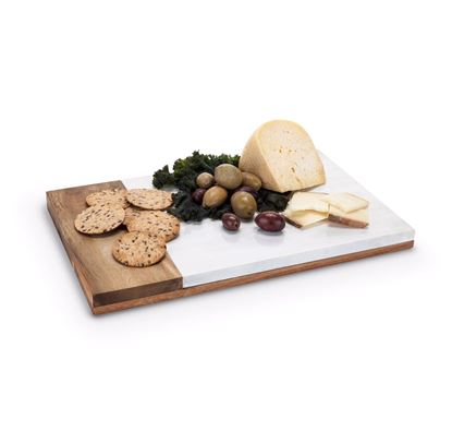 Picture of Marble & Wood Cheeseboard