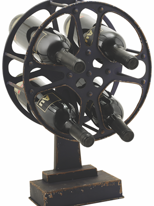 Picture of Movie Reel Wine Rack