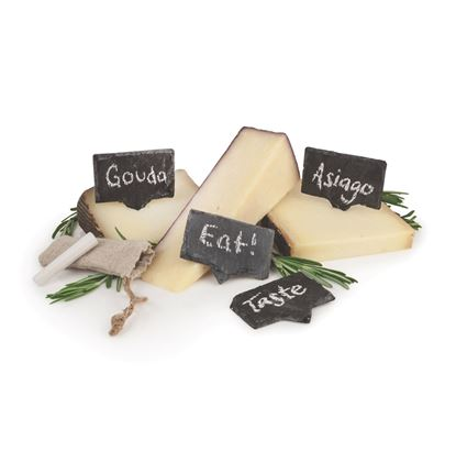 Picture of Slate Cheese Markers