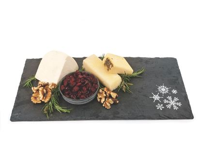 Picture of Snowflake Slate Cheeseboard