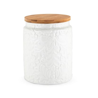 Picture of Textured Ceramic Canisters- Medium