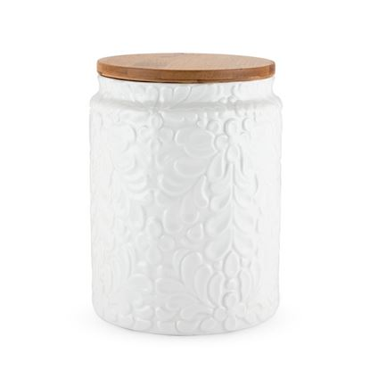 Picture of Textured Ceramic Canisters- Small