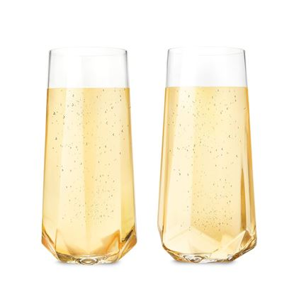 Picture of Seneca Faceted Champagne Glass